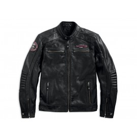CRUISER PERFORATED LEATHER JACKET BY HARLEY DAVIDSON