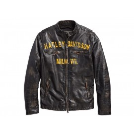 FORGE SLIM FIT LEATHER JACKET BY HARLEY DAVIDSON