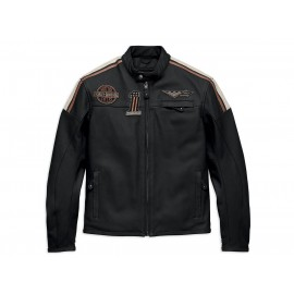 HARLEY DAVIDSON GORGAN CE-CERTIFIED LEATHER JACKET