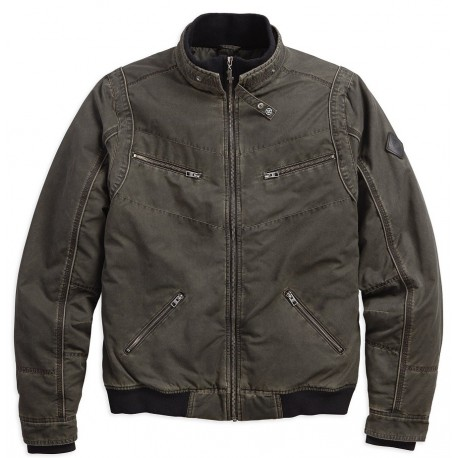 QUILTED LINING BOMBER JACKET BY HARLEY DAVIDSON