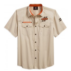 Men's Screamin' Eagle Twill Shirt