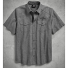 Men's Vintage Logo Textured Shirt H-D