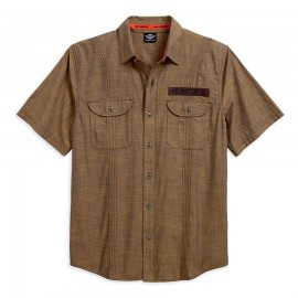 HARLEY-DAVIDSON MULTI-TRACK STITCHED MEN'S SHIRT