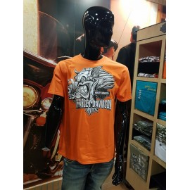 H-D SIEBLA MALAGA T-SHIRT ORANGE