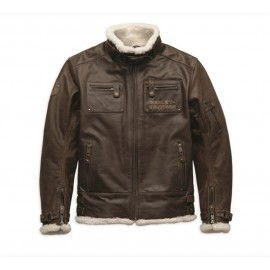 Harley-Davidson® Men's haxen Leather Jacket