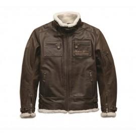 Harley-Davidson® Men's haxen Leather Jacket
