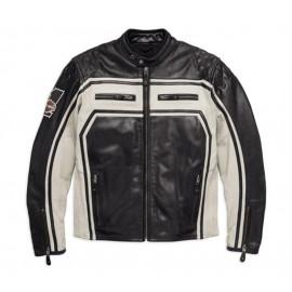 Harley-Davidson® Men's Endurance Leather Jacket, Black