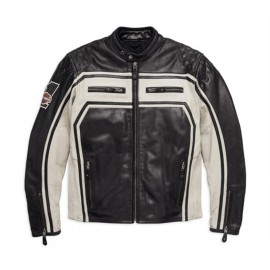 Harley-Davidson® Men's Endurance Leather Jacket, Black