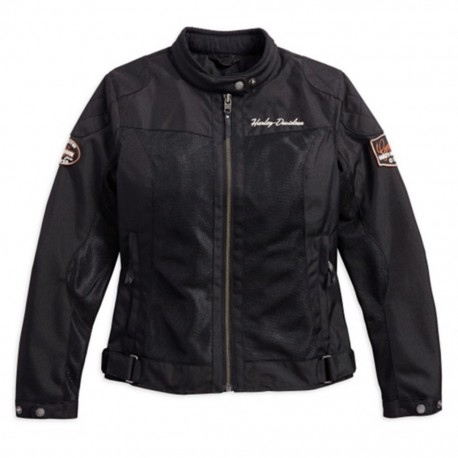 BAR & SHIELD® LOGO MESH RIDING JACKET