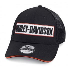 Harley-Davidson Baseball Cap Hex Mesh 59FIFTY