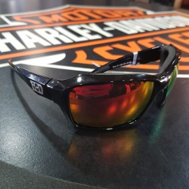 H-D CANNON RED MIRROR SUNGLASSES