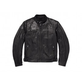 Harley-Davidson® Reflective Skull Leather Jacket