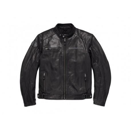 Harley-Davidson® Reflective Skull Leather Jacket