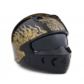 CASCO 2 EN 1 GOLDUSA BY HARLEY DAVIDSON