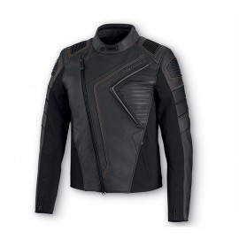 HARLEY DAVIDSON WATT SLIM FIT LEATHER JACKET