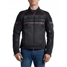 HARLEY DAVIDSON MESH SLIM FIT RIDING JACKET