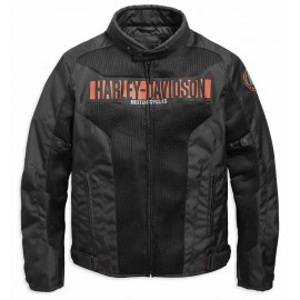 HARLEY DAVIDSON NEMAHBIN PERFORATED JACKET