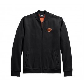 VERTICAL STRIPE FLEECE JACKET BY HARLEY DAVIDSON