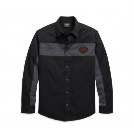 COPPERBLOCK LONG SLEEVE SHIRT BY HARLEY DAVIDSON