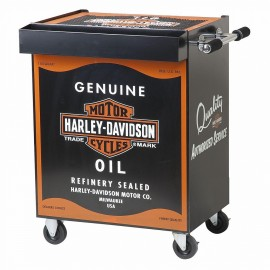 HARLEY DAVIDSON® OIL CAN BEVERAGE CART