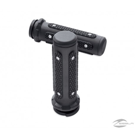 ENDGAME COLLECTION HAND GRIPS - BLACK ANODIZED