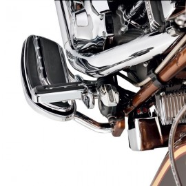 REAR MASTER CYLINDER COVER - CHROME