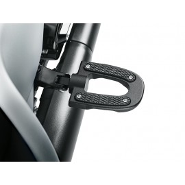 50501716 ESTRIBERAS ENDGAME COLLECTION DEL PASAJERO - BLACK ANODIZED BY HARLEY DAVIDSON