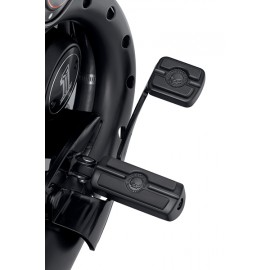 WILLIE G SKULL COLLECTION RIDER FOOTPEGS - BLACK