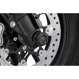 DOMINION COLLECTION FRONT AXLE NUT COVERS - GLOSS BLACK