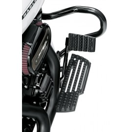 DOMINION COLLECTION RIDER FOOTBOARD KIT - GLOSS BLACK ANODIZED