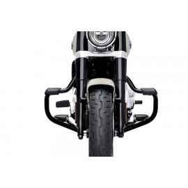 49000141 PROTECCIÓN DEL MOTOR MUSTACHE - NEGRO BRILLANTE BY SOFTAIL DESDE 2018
