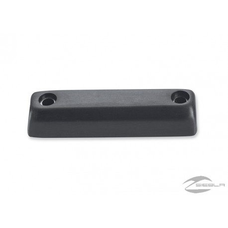 DOMINION™ COLLECTION TRIM PIECE - LARGE BRAKE PEDAL PAD - BRUSHED BLACK