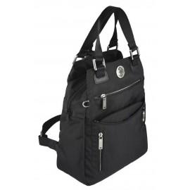 Harley-Davidson® Women's World Tour Collection Backpack / Handbag BLACK