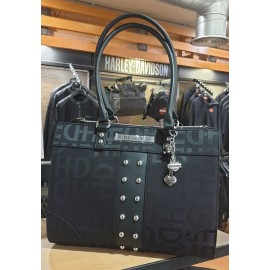 Harley-Davidson® Women's H-D® Jacquard Carry-All | Dome Stud Embellishments