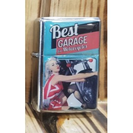 MECHERO RETRO BEST GARAGE LIGHTER HAY 4 COLORES