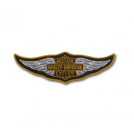PATCH-MULTI COLOR 30'S WING LARGE IRON-ON PATCH