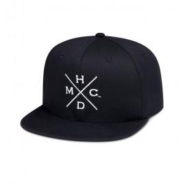 CAP-WOVEN,BLACK