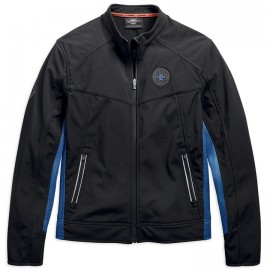 JACKET-LOGO BADGE,SOFT SHELL,W