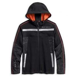 JACKET-PERFORM,MESH ACCENT,WVN