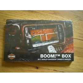 2017 BOOM! BOX OWNER'S MANUAL