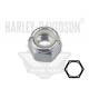 "7686 TUERCA HEXAGONAL 1/4 ""-20 AUTOFRENANTE HARLEY DAVIDSON"