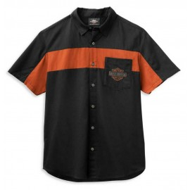 HARLEY-DAVIDSON MEN'S COPPERBLOCK LOGO SHIRT