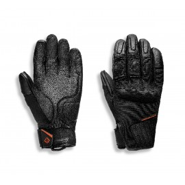 HARLEY-DAVIDSON MEN'S H-D BRAWLER FULL FINGER GLOVE