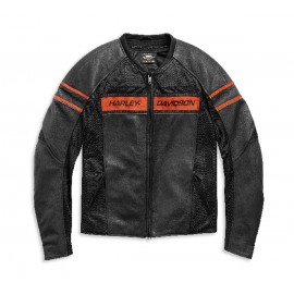 HARLEY-DAVIDSON BRAWLER LEATHER JACKET