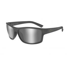 HASLK01 H-D GLASSES TWIN Smoke Grey Matte Grey Frame