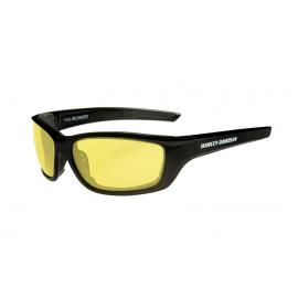 HABFL11 H-D GLASSES 4 STROKE Yellow Matte Black Frame