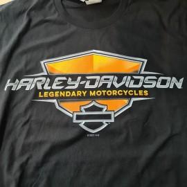 HARLEY-DAVIDSON T-SHIRT SIEBLA MARBELLA BLACK