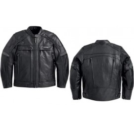FXRG® Leather Jacket with Pocket System