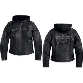 Miss Enthusiast 3-in-1 Leather Jacket
