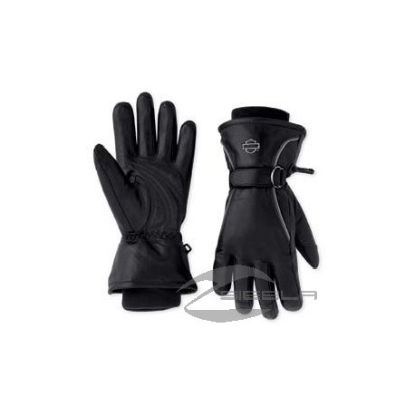 Windshielder Full-Finger Leather Gloves